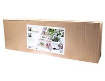 Stojan na kvety drevený 3 police 24x60x70cm 1ks