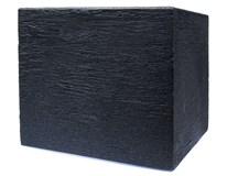 Kvetináč kocka antracitový 30x30cm 1ks
