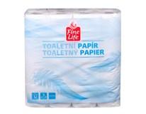 Fine Life Toaletný papier biely 3-vrstvový 1x32 ks
