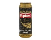 Urpiner pivo tmavé 11° 24x500 ml PLECH