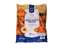 Metro Chef Sweet potato wedges mraz. 1x2500 g