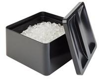 Box na ľad 27x27cm 5l čierny 1ks