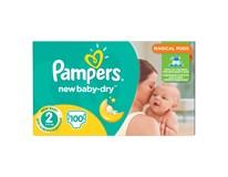 Pampers active baby mini detské plienky 1x100 ks