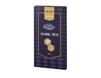 Metro Premium Dark 78% čokoláda 1x80 g