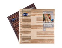 Servítky papierové Dunilin Brooklyn Black 40cm Duni 50ks