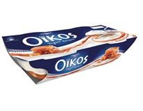Danone Oikos smotanový jogurt slaný karamel chlad. 2x110 g