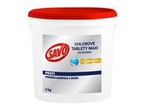 Savo Maxi chlórové tablety do bazéna 1x5 kg