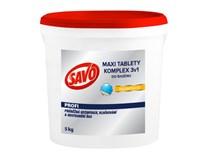 Savo Maxi Komplet tablety 3v1 do bazéna 1x5 kg