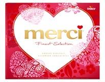 Merci tabuľková čokoláda mix + vylamovacie srdce Valentín 1x250 g