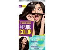 Schwarzkopf Pure Color 4.0 tmavohnedá farba na vlasy 1x1 ks