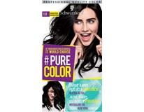 Schwarzkopf Pure Color 1.0 havrania čierna farba na vlasy 1x1 ks