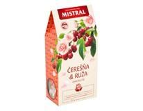 Mistral Čerešňa a ruža ovocný čaj 1x36 g