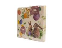 Obrúsky papierové Bunny Chicks 3-vrstvové 33cm Harmony 20ks