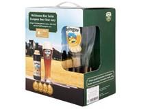 Ayinger Urweisse pivo 5x500 ml SKLO + pohár