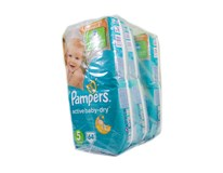 Pampers active baby giant pack S5 detské plienky 3x64 ks