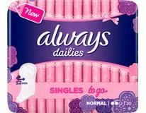 Always Liner normal dámske vložky 1x20 ks