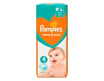 Pampers Sleep and Play maxi detské plienky S4 1x50 ks