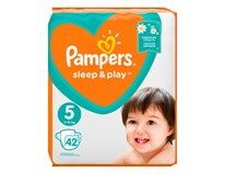 Pampers Sleep&Play value pack S5 detské plienky 1x42 ks