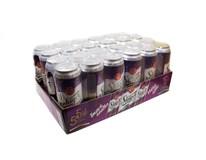 Steiger pivo nealkoholické tmavé light višňa 4x6x500 ml PLECH