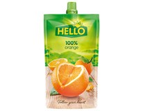 Hello šťava kapsička pomaranč 100% 10x200 ml