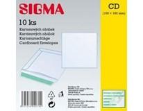 Obálka CD kartónová 16 x 16 cm SIGMA 10ks
