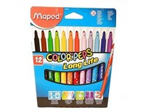 Fixky Color Peps Maxi Maped 12ks