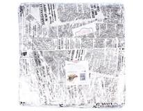Nepremastiteľný papier motív noviny 33x32,5cm 1x500 ks