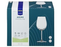 Poháre na víno Aveiro 350ml Metro Professional 6ks