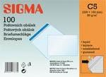 Obálka C5 samolepiaca SIGMA 100ks