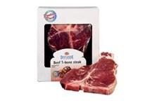 Diviande hovädzí T-bone steak mraz. (cca 1,6kg) 4x400 g