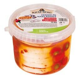 Hermelín nakladaný s feferónkami chlad. 15x75 g