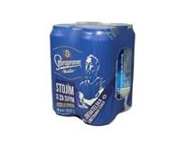 Staropramen pivo nealkoholické 4x500 ml PLECH