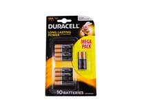 Batérie 1500 AA Duracell basic 10 ks