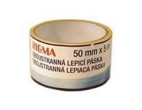 Lepiaca páska obojstranná 50mmx5m SIGMA 1ks