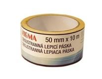 Lepiaca páska obojstranná 50mmx10m SIGMA 1ks