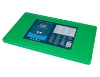 Doska na krájanie s drážkou HACCP GN 1/1 zelená Metro Professional  1ks