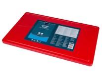Doska na krájanie s drážkou HACCP GN 1/1 červená Metro Professional 1ks