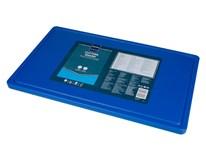 Doska na krájanie s drážkou GN 1/1 modrá Metro Professional 1ks