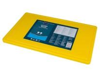 Doska na krájanie s drážkou HACCP GN 1/1 žltá Metro Professional 1ks