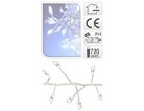 Drôt strieborný 720 Micro LED studená biela 1ks