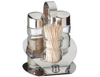 Menážka Basic na soľ/korenie + špáradlá 11,5cm Metro Professional 1ks