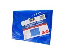 Obálka plastová s drukom modrá A5 ARO 5ks