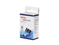 Klipy čierne 19mm SIGMA 12ks