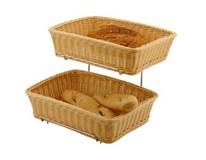 Košíky na pečivo PP béžové Hendi 2ks