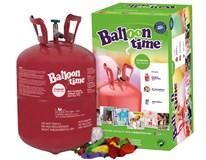 Hélium jednorázová tlaková nádoba 0,25l, stuha, 30x balónik 1ks