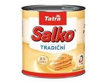 Tatra Salko zahustené mlieko chlad. 4x397g plech