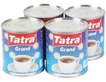 Tatra Mlieko do kávy Grand kondenzované 9% chlad. 4x310g plech