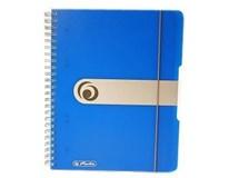 Blok špirálový A5/80 štvorčekový modrý Herlitz 1ks
