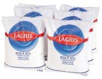 Lagris Soľ varená jódovaná jedlá 6x1 kg