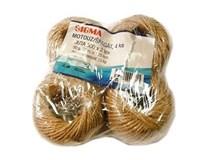 Špagát jutový 500x2, 50 g SIGMA 2ks